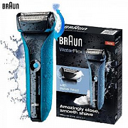 Электробритва Braun WaterFlex WF2s (синий)